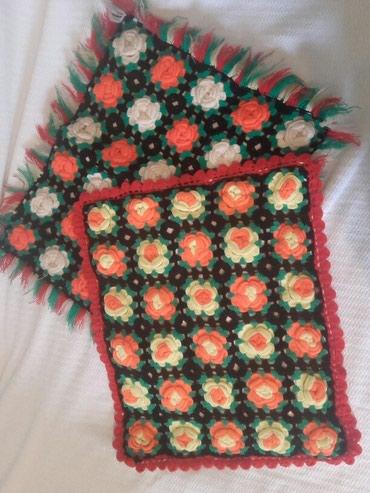 Dve etno jastucnice od vune - Belgrade