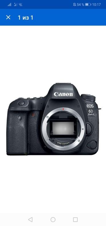 зеркальный фотоаппарат canon eos 70d body в Азербайджан: Canon eos 6D mark 2 body təzə karopkada. Nömrəye zəng catmasa whatsapp