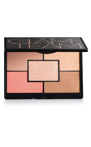 Kosmetika - Şəki: Kirşan,haylayter,bronzer,ənlik,rumyana birlikdə super palet