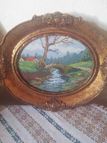 Slike | Kragujevac: Original Vilerov goblen, uramljen