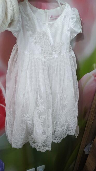 Шикарное праздничное платье на девочку 2-4 лет (зависит от ребенка)