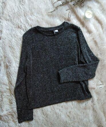 HM bluza sa sljokicama,M, oversized. Kao nova.Ramena 42, pazuh 54