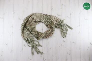Жіночий шарф з бахромою    Довжина: ≈221 см Ширина: 21 см  Стан: дуже