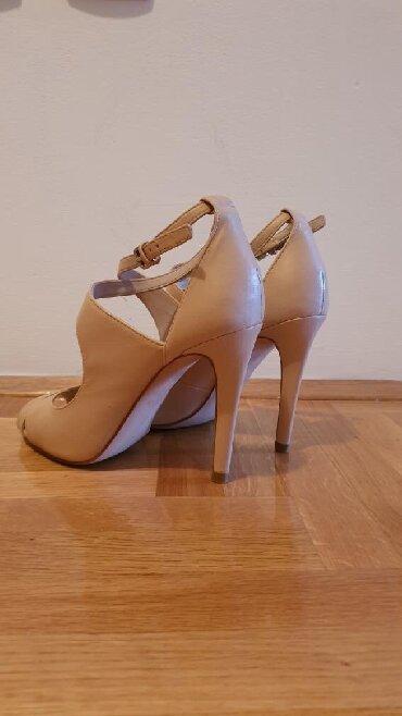 Ženska obuća | Bor: Original Zara cipele, prava koža, 39 vel