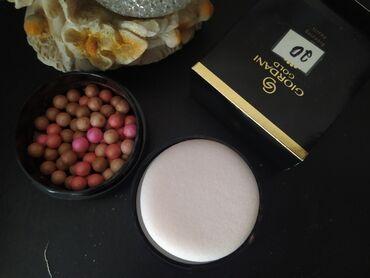 Kosmetika - Tovuz: Giordani Gold seriyasından diyircəkli ənlik bronzer orginal məhsuldur
