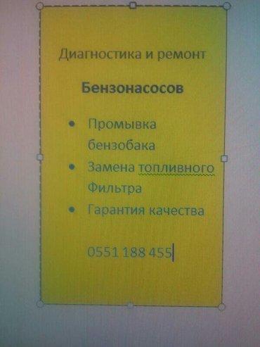 . Диагностика и ремонт бензонасосов. Промывка бензобаков. Замена топли в Бишкек