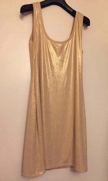 Zara καινούργιο χρυσό μίνι φόρεμα .  σε Rest of Attica