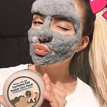 Маска для лица Carbonated Bubble Clay Mask — в Бает