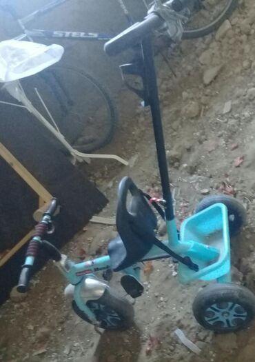 Велосипед трёх кол жаны бойдон подарок келген балам олтурбай