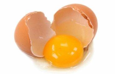 яйцо куриное 6сом доставка желток желтый в Кант