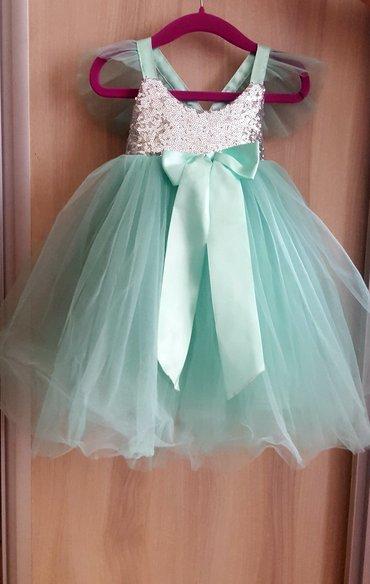 Красивое платье б. у в идеальном состоянии одето один раз 1-2года в Бишкек