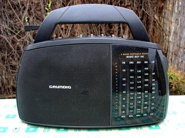 Grundig music boy 180, odličan nemački radio tranzistor iz 1990. - Novi Sad