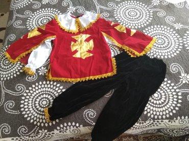Новогодний костюм мушкетёра, на 8-10 лет.( Шляпы нет). в Бишкек