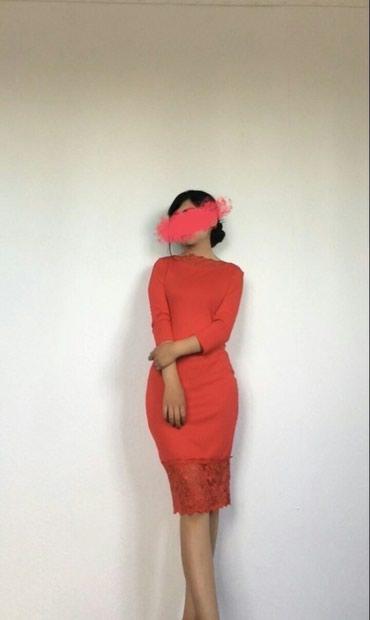 Очень красивое красное платье(Одевала в Бишкек
