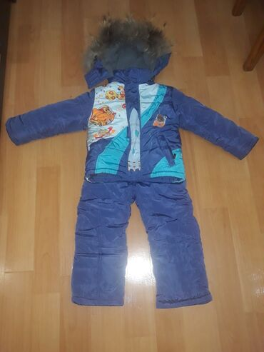 Продаю детский зимний комбинезон, на мальчика 3-4 года. Носили только