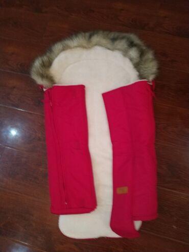 """вешалка для верхней одежды бишкек в Кыргызстан: Продаю конверт """"Happy Baby"""" в коляску, состояние идеальное, т.к не"""
