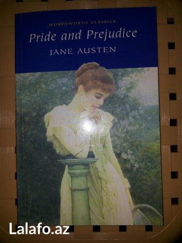 Bakı şəhərində Kitab ingilis dilinde pride and prejudice by jane austen