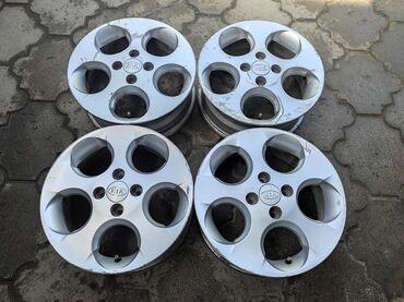 купить диски для машины в Кыргызстан: Диски kia диаметр r15сверловка 4*100ширина 5.5jвылет et45dia 54.1цена