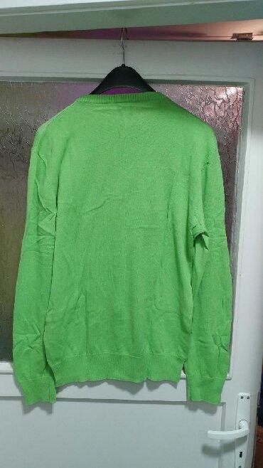 Muška odeća | Bor: Muska bluza/dzemper Smog. Tanak, zelene boje. XL velicina, nosen par