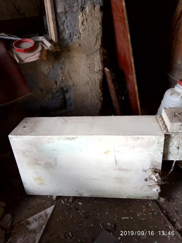 Продам нержавеющий титан! 200 литров, длина 1 метр, ширина 54,5 см