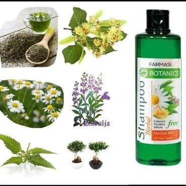 Slonovaca - Srbija: Herbal Mix šampon za sve tipove kose.Čista priroda u vašoj kosi Sadrži