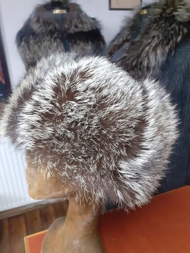 Avo krzno obim - Srbija: Subara od srebrne lisice. Prirodno krzno. Obim 59cm