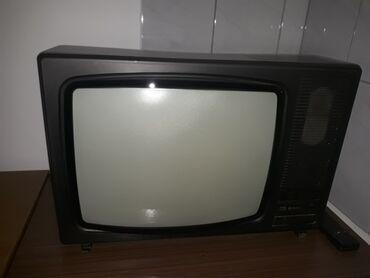 """Sako crne boje - Srbija: """"Ei Niski TV"""", u ispravnom stanju. Crne boje, sa daljinskim"""
