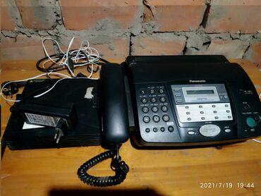 Электроника - Селекционное: Продаю факс и роутер
