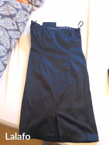 Divna crna haljinica, idealna za svadbe i proslave, duzina 72cm, - Sopot