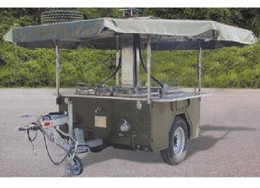 транспортный услуги в Кыргызстан: Пищеварочный прицеп на 400-600 персон.Легко транспортируемый