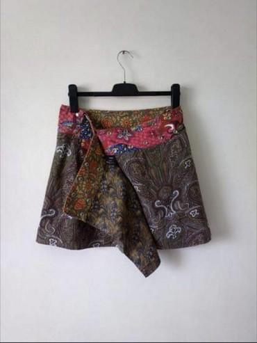 Suknja sl - Srbija: Fantasticna Moshiki univerzalna suknja na preklop. Brend prepoznatljiv