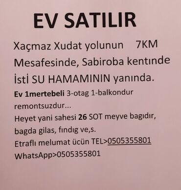 xacmaz ev alqi satqi - Azərbaycan: Ev Satılır satılır Xaçmaz xaçmaz xacmaz 35min 26 sot 3 otağ 1 balkon
