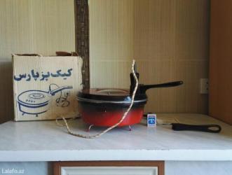 Bakı şəhərində электрическая  кастрюля. практически не была использована. ( алюминиев