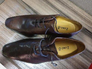 Туфли мужские кожаные. Италия. Размер 42