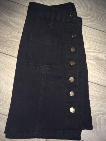 Джинсовая юбка за 200 сом б/у  хорошее состояние