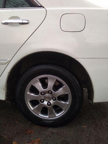 """шины 195 65 r15 лето купить в Кыргызстан: Продаю цена за наличку срочно резиной R15 5""""114 диски в отличном"""