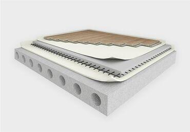 Тихий пол. материал для шумоизоляции пола межэтажных перекрытий