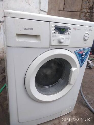 ремонт электротоваров в Кыргызстан: Фронтальная Автоматическая Стиральная Машина Atlant 6 кг