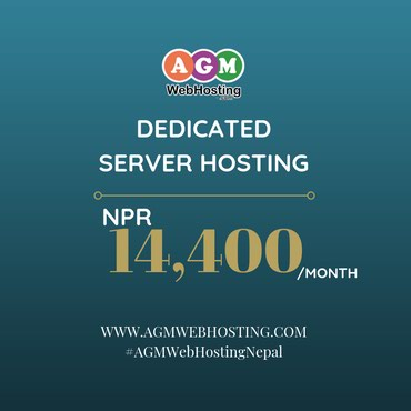 Best Dedicated Server in Nepal - AGM Web Hosting in Kathmandu