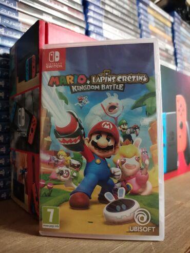 Nintendo Switch - Azərbaycan: Nintendo switch oyunu mario. Yenidir tam Bağlı salafanda orginal. Çatd