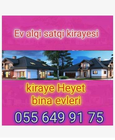 Emlak ev alqi satqi kiraye 470 azn icareye arendaya obyekt satdiq в Bakı