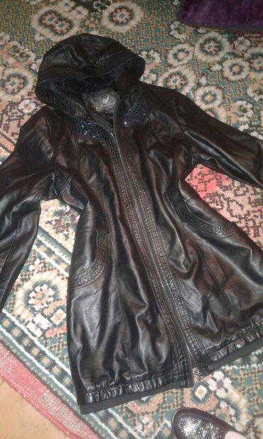 суртук из Италии  чистые кожа состоянии отличный размер 48^50 в Бишкек