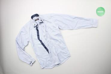 Топы и рубашки - Голубой - Киев: Дитяча сорочка у смужку Franko Manutti    Довжина: 55 см Ширина плечей