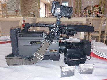 Gəncə şəhərində Sony dsr 250 dvcam kamera az islenib super veziyetdedi 16 9