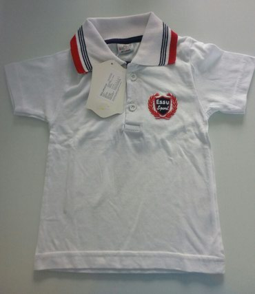 Prada torba je turskoj e - Srbija: Majica bele boje sa kragnom, za bebu dečaka.Veličina je 86,ali više