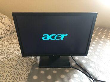 Monitorlar Azərbaycanda: Monitor Ekran 19 luq Acer vga Hecbir problemi yoxdur