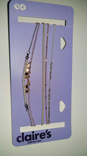 Haljina-na-popustu-xl - Srbija: Claire's ogrlice(novo),5 kom za 1000din.Bižuterija koja ne rdja i ne
