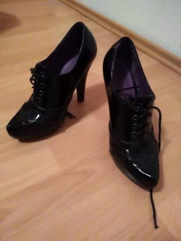Malo nosene lakovane cipele,stikla 12cm - Belgrade