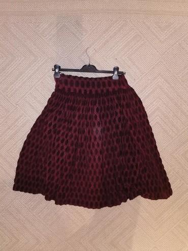 Bordo-torba - Srbija: Bordo suknja