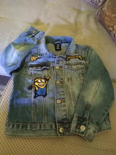 Dečije jakne i kaputi | Paracin: Na prodaju decija teksas jakna HM, velicina 128, potpuno je nova, sa